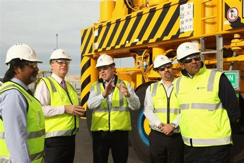 Lu Emergency Atn dp world launches bio diesel trial and new straddles