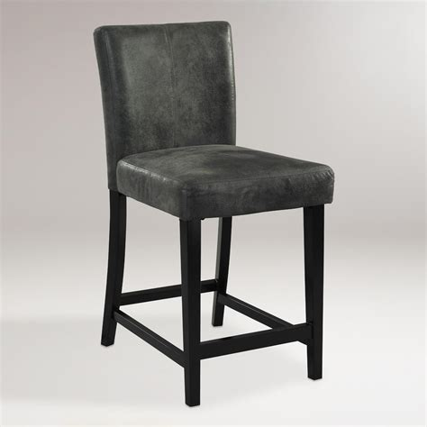 Charcoal Stool charcoal reese counter stool world market