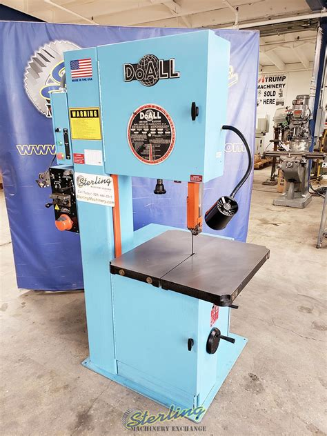 Used Doall Vertical Contour Bandsaw With Welder Vertical