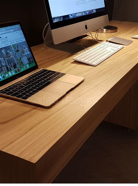 scrivania imac scrivania da studio in casa design moderno scrivania
