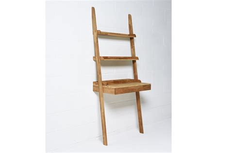 futon company desk wooden ladder