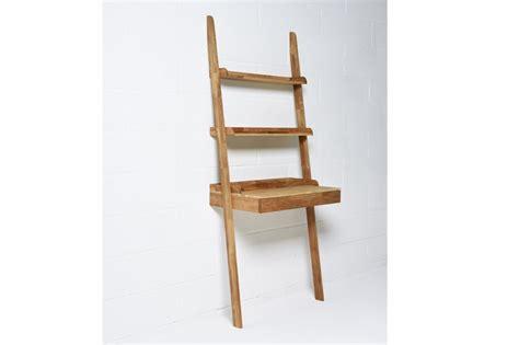 Wooden leaning desk in oak futon company