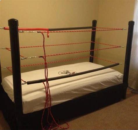 wrestling ring bed make a wrestling ring bed 8