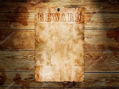 wanted woodworker western wanted poster on wooden background stock