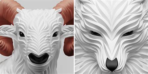 elegant animal portraits  maksim shkret show  quiet
