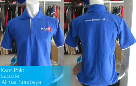 desain baju engineering kaos polo allmac bordir komputer
