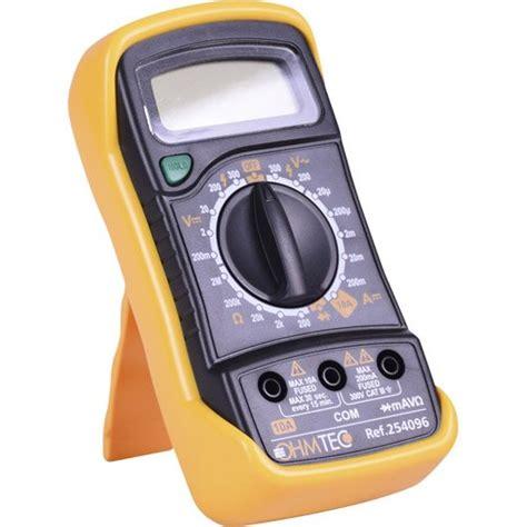 Multimetre Digital Mode D Emploi 3475 by Comment Utiliser Un Multim 232 Tre Leroy Merlin
