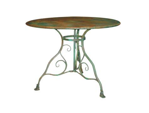 table de jardin ronde en m 233 tal fer forg 233 arras