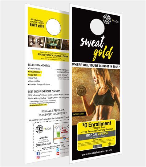 Front Door Advertising Door Hangers