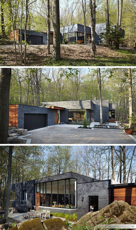 modern home design ontario 43 best house on slope images on pinterest modern home