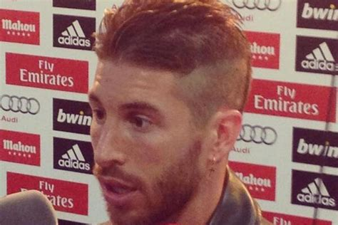sergio ramos hairstyle 2014 sergio ramos new hairstyle and haircut the side square style
