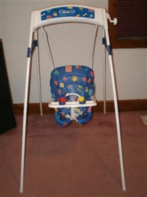 baby wind up swing graco vintage swingomatic wind up baby swing great