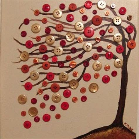 arts and crafts ideas 30 creative diy fall buttons craft ideas