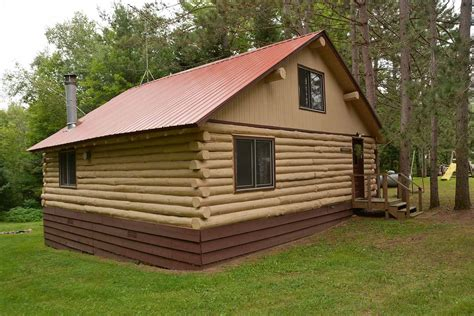 Wisconsin Log Cabin Rentals by Lake View Log Cabin Rental Clam Lake Wisconsin Clam
