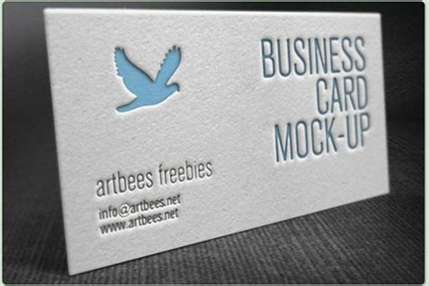 letterpress business card psd mockup template 100 best free psd business card mockups 2018