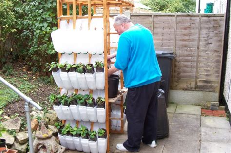 Recycled Container Gardening Ideas Recycled Containers For Gardening Wheelchair Gardening 11 Jrp Recycling Plastic Containers