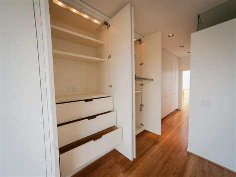 white closet drawers modern built in closet drawers with pure white three