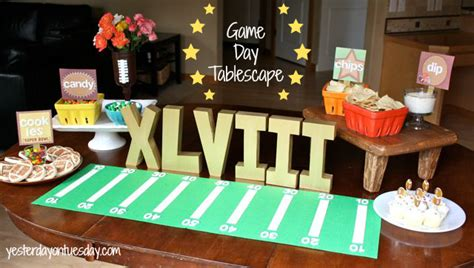 Game Day Giveaway Ideas - game day party ideas and coupons com giveaway yesterday on tuesday
