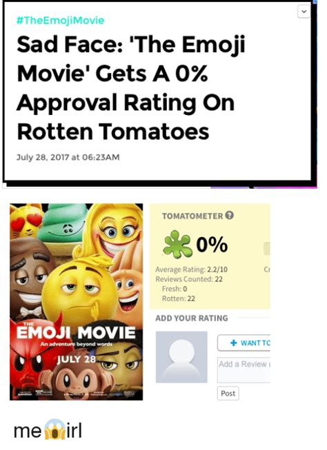 emoji rotten tomatoes search movie 2007 memes on me me