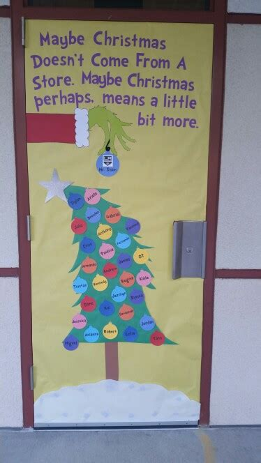 christmas doors in schools door grinch door school doors grinch doors and school