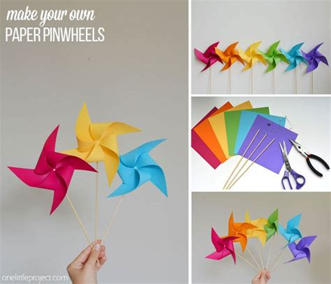 How To Make A Paper Pinwheel That Spins - best 25 paper pinwheels ideas on pinwheel