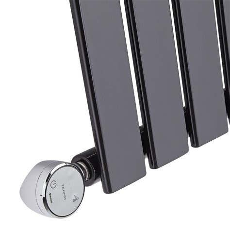 designer kleiderhaken 635 design heizk 246 rper elektrisch horizontal einlagig schwarz
