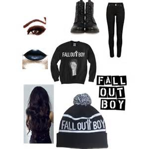 fall out boy concert polyvore