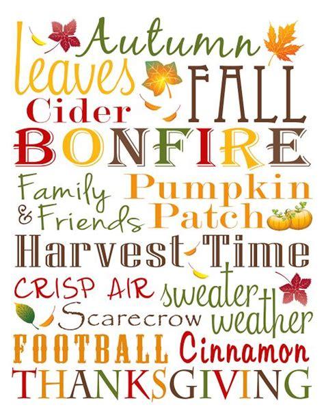 printable thanksgiving quotes fall subway art subway art and free printable on pinterest