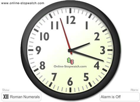 online clock alarm clock online