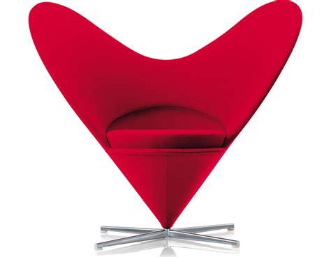Verner Panton Heart Chair   hivemodern.com