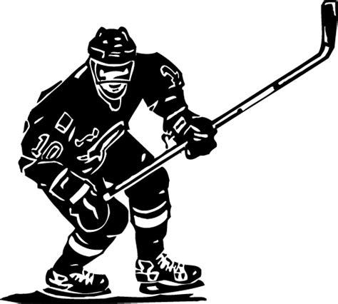 Wall Sticker Art hockey graphics cliparts co