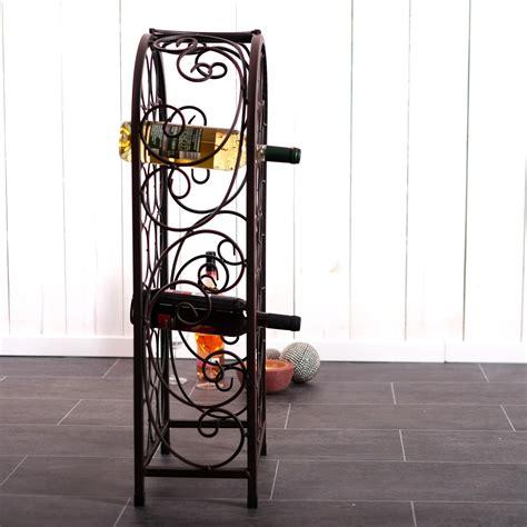 designer wine rack for 20 bottles metal bottle holder