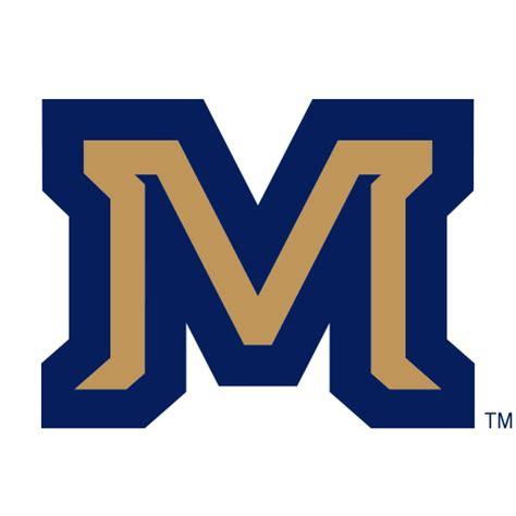 logo montana state university bobcats gold m blue outline