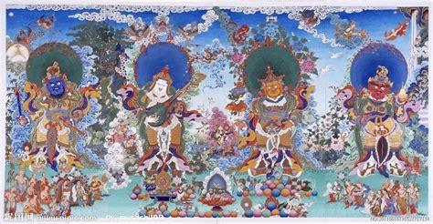 四大天王设计图 宗教信仰 文化艺术 设计图库 昵图网nipic com