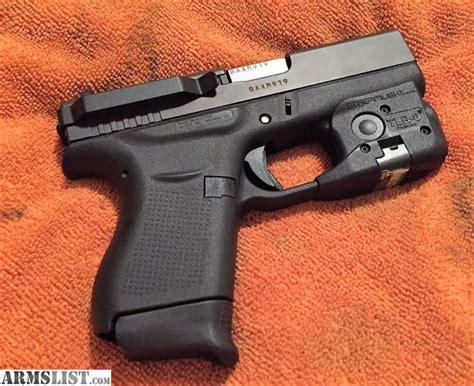 Armslist For Sale Trade Glock 43 With Tlr6 Laser Light