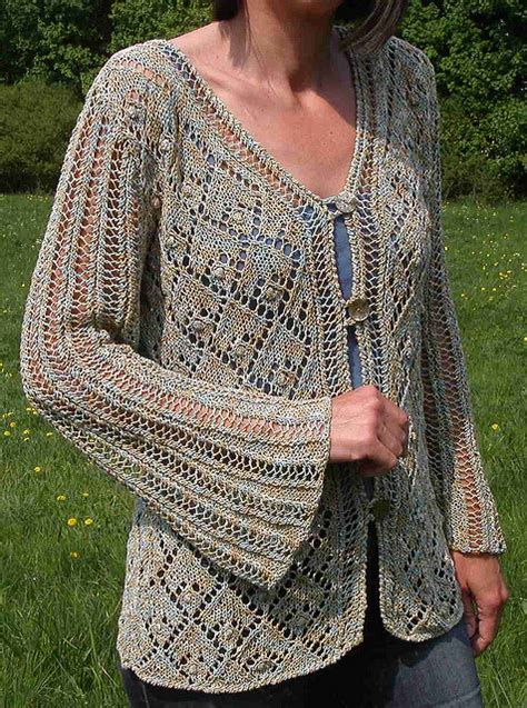 knitted lace sweater patterns knitting patterns in the loop knitting