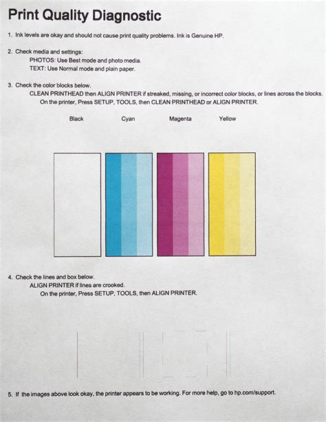 How To Make Printer Paper Look - hp printer stopped printing black