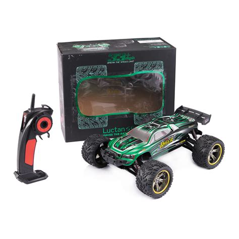 Mainan Rc Mobil Remot All Terrain 2 4ghz Skala 1 18 Remote 1 12 scale rc truck 2 4ghz 2wd electric racing car remote