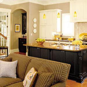 kitchen and living room color ideas кухня с гостиной фото
