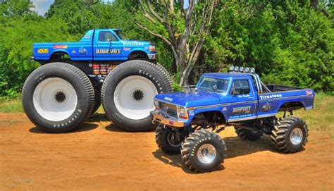 bigfoot 5 monster truck bigfoot 1 monster truck restoration complete