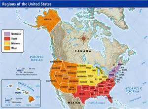 landform map of the united states united states northeast region landforms