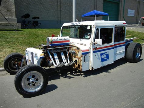postal jeep rod hemmings find of the day 1981 grumman kurbwatt