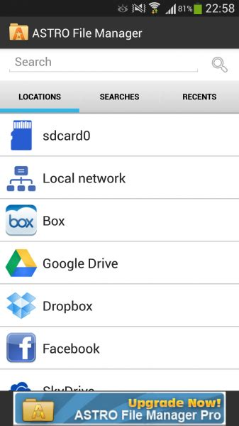 astro file manager apk pc astro file manager 4 4 582 apk for android now