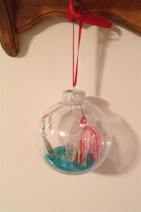 christmas tree from fishing line tutorial diy fishing lure ornament my stuff fishing lures ornament and ornament