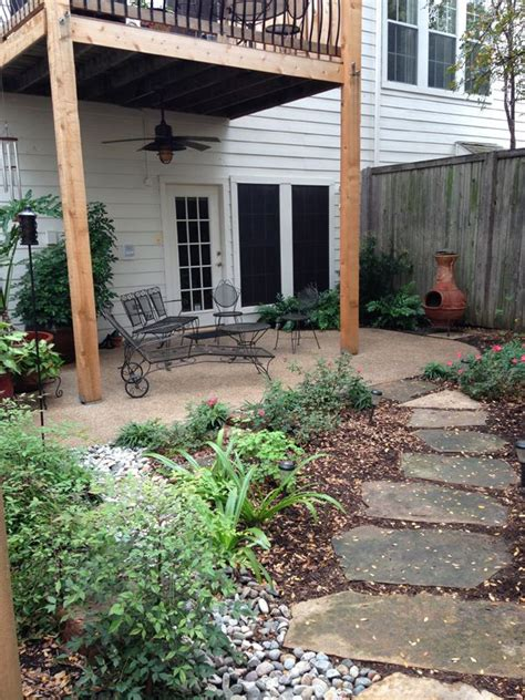 our townhouse patio backyard renovation wins silver teil award townhouse landscaping