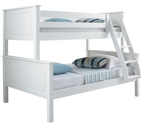 triple bed happy beds vancouver 4ft bunk bed triple sleeper solid