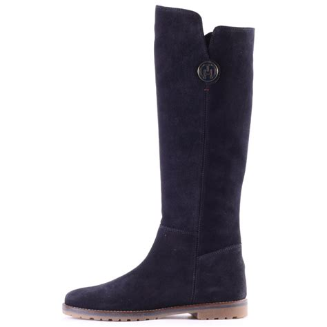 navy boots hilfiger wendy 3b womens boots in navy