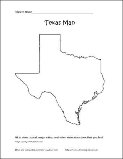 printable texas map learn about texas with these free printables texas texas history and social studies