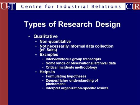 research design for thesis types of thesis research design