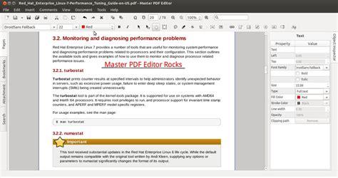 linux tutorial with exles pdf edit pdf files on ubuntu linux with master pdf editor